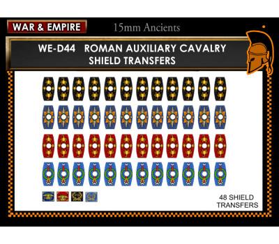 WE-D44 Roman Cavalry, hex shields