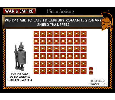 WE-D46 Roman Legionaries – 1st Century – Mid/Late (type 1)