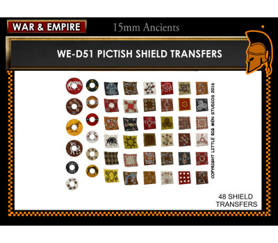WE-D51 Pictish Shields