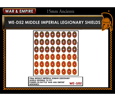 WE-D52 Middle Imperial Roman Legionary - Oval