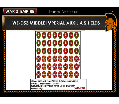 WE-D53 Middle Imperial Roman Auxilia - Oval