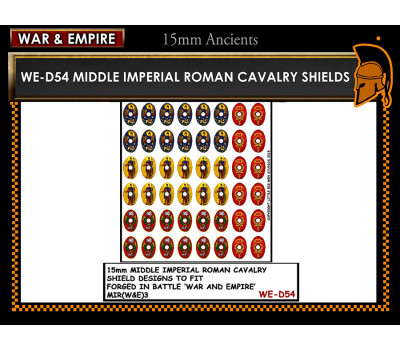 WE-D54 Middle Imperial Roman Cavalry - Oval