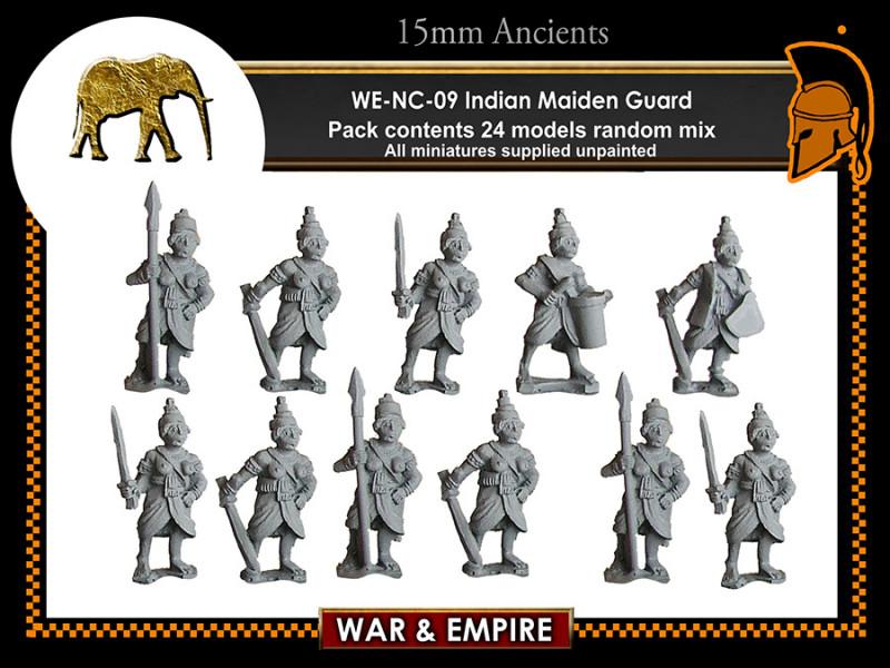 Mounted Maiden Guard (random 4 of 4 designs) - Campaign