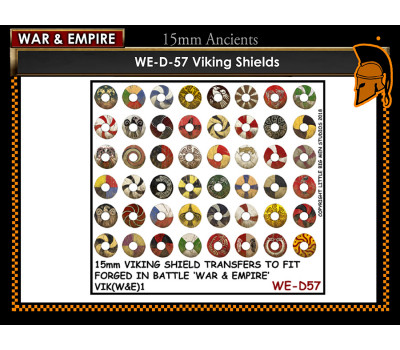 WE-D57 Viking Shields