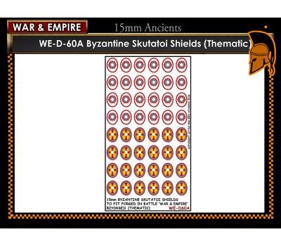 WE-D60A Byzantine Skutatoi shields - Type 1 (thematic large round)