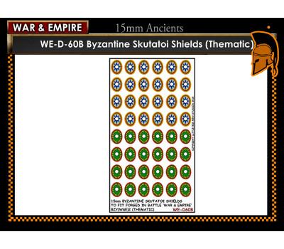 WE-D60B Byzantine Skutatoi shields - Type 2 (thematic large round)