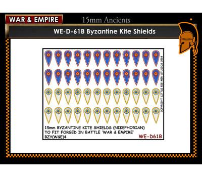 WE-D61B Byzantine Kite shields - Type 2 (Nikephorian)