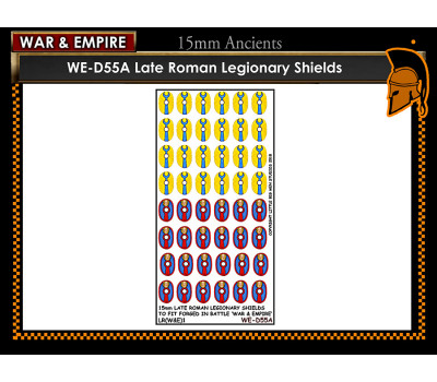 WE-D55A Late Roman Legionary - Type 1 (large round Shield)