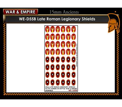 WE-D55B Late Roman Legionary - Type 2 (large round Shield)
