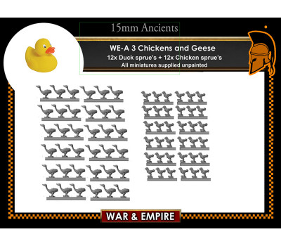 WE-A03 Chickens and Geese