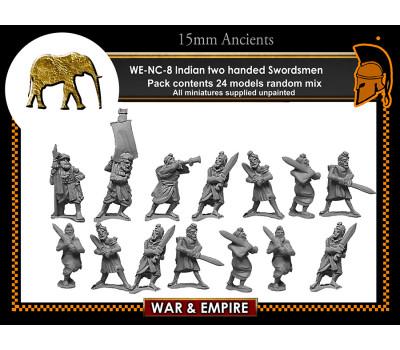 WE-NC08 Indian 2 handed Swordsmen