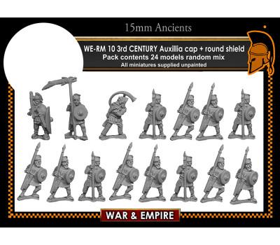 WE-RM10 3rd Century Auxillia - Cap Round Shield